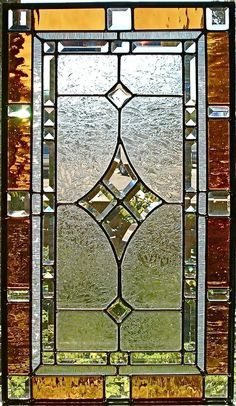 stained glass panels   Custom Made Traditional Stained Glass Window/Panel by Glassmagic ...