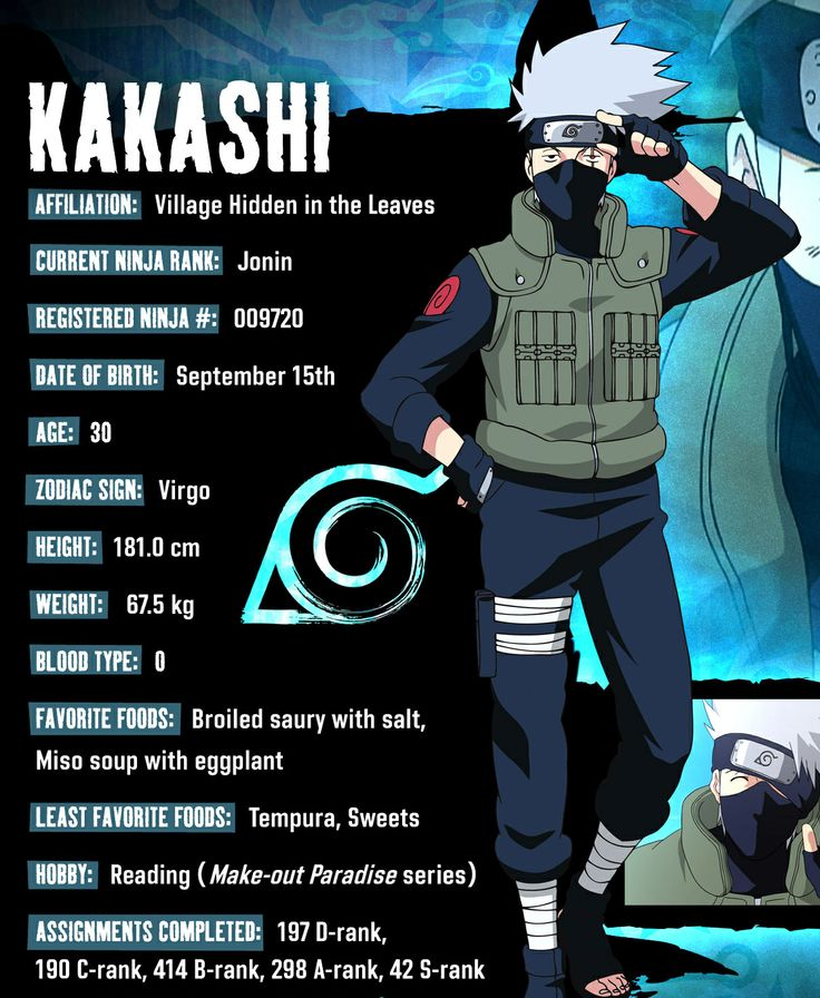 Kakashi and Kakashi hatake on Pinterest