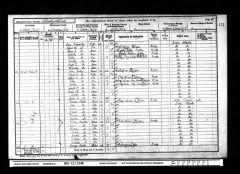 1901 England Census Census & Electoral Rolls 	 Name	John Lacey Spouse	Sarah A Lacey Children	Albert R Birth	1859 - Ilkeston, Derbyshire, England Residence	1901 - Ilkeston, Derbyshire, England