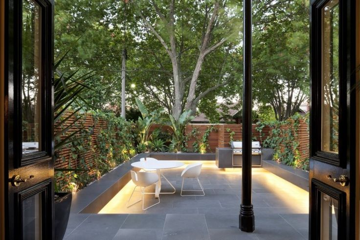 nr_110912_10: Gardens Architecture, Gibson Architecture, Courtyards Gardens Design, Matte Gibson, Dining Spaces, Nicholson Resident, Outdoor Spaces, Architecture Terraces, Architecture Design
