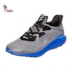 Adidas alphabounce J–Chaussures deportivaspara enfants, gris–(Gris/onicla/bleu), 4 - Chaussures adidas (*Partner-Link)