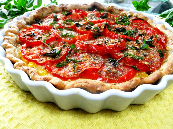 Tomato and Corn Pie http://prouditaliancook.blogspot.com/2012/08 ...