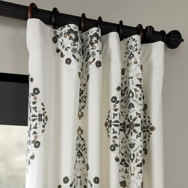 Overstock Com Online Shopping Bedding Furniture Electronics Jewelry Clothing More Floral Room Printed Cotton Curtain Damask Print