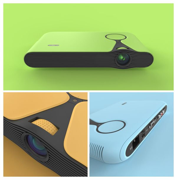 Optoma ML Concept by jules parmentier, via Behance