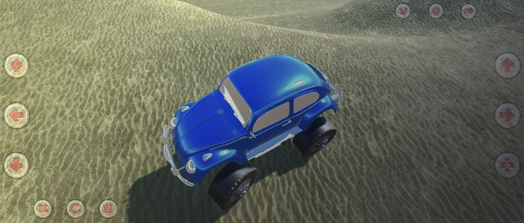 SandRace offroad racing - indiegame, videogame