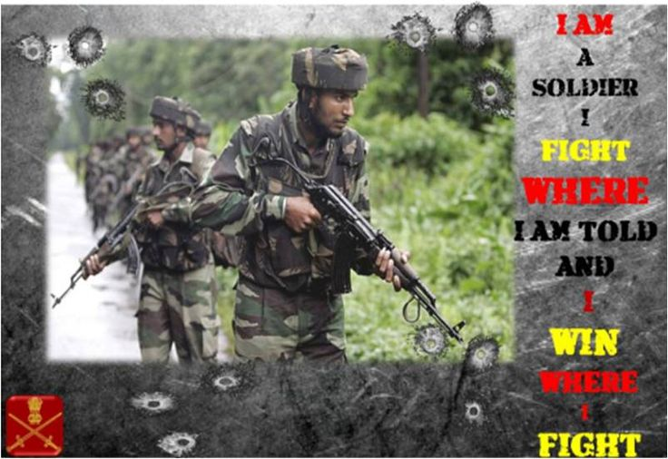 #IndianArmy Patrol on Search and Destroy mission.
