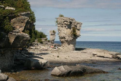 Flowerpot Island, Ontario