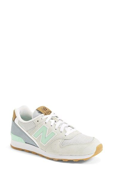 New Balance 696 Grey Mint