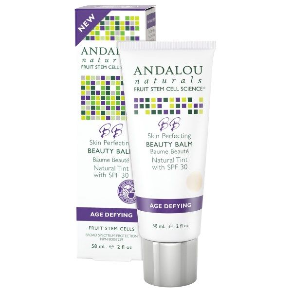 Andalou Naturals, BB Skin Perfecting Beauty Balm, Natural Tint with SPF 30, Age Defying, 2 fl oz (58 ml)