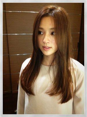 中村アンちゃんの髪型 正面