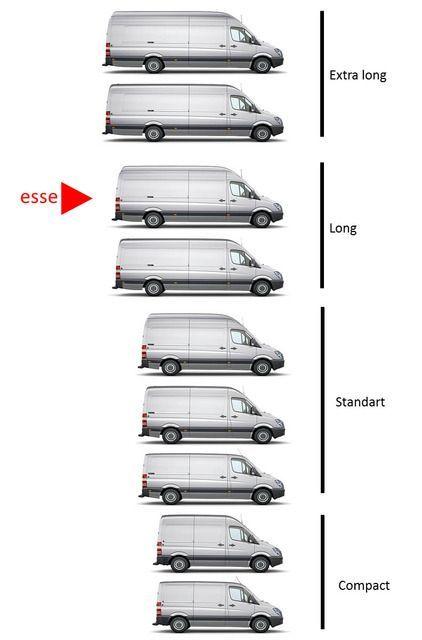 """Résultat de recherche d'images pour """"mercedes sprinter compact""""(Truck Camping Hacks)"""