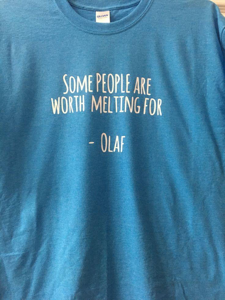 Olaf Unisex T-shirt, Disney Shirt, Frozen Shirt, Disney World Shirt, Matching Disney Shirts by OhanaFamilyApparel on Etsy
