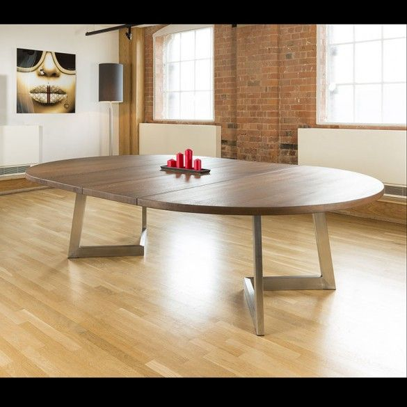 Round Dining Room Tables For 12: Massive 180-280cm Extending Luxury Round / Oval Dining