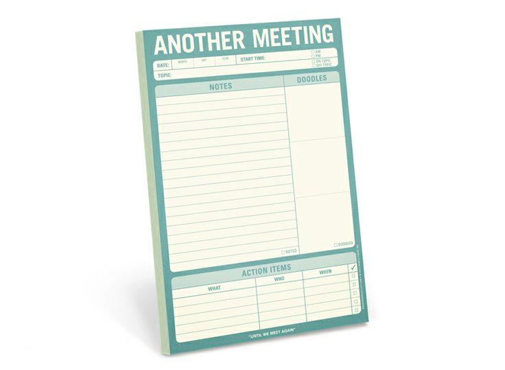 Again?!? - Cool Office Supplies | Another Meeting Pad | KNOCK KNOCK #backtoschool #knockknockstuff