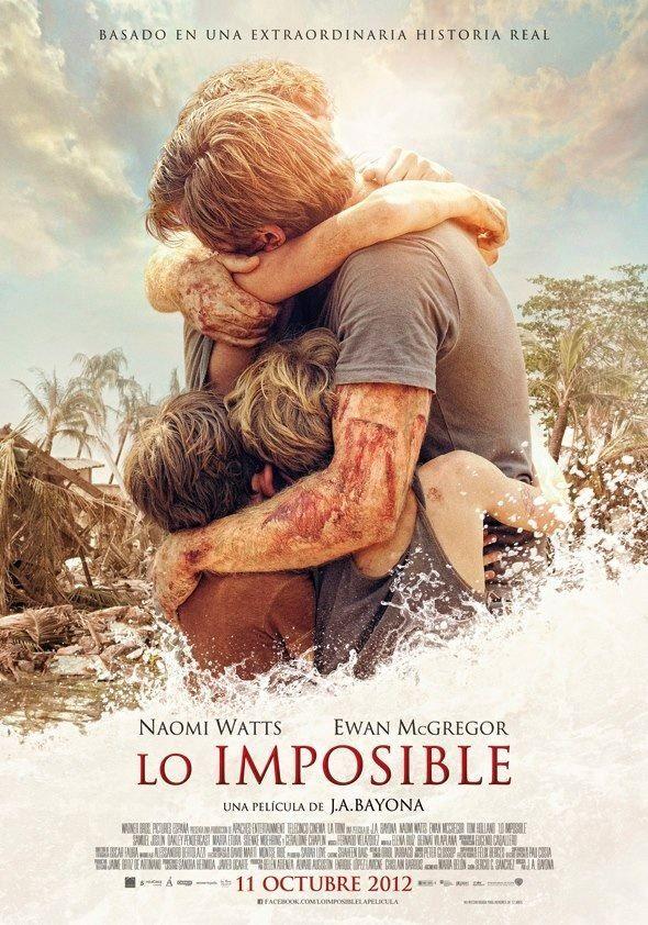#LoImposible #TheImposible de J.A. Bayona
