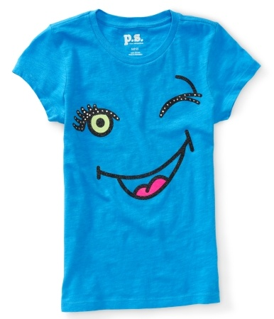 Kids Wink Face Graphic T - PS From Aéropostale®