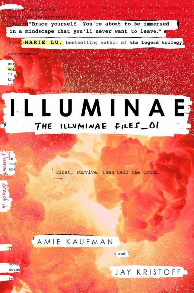 LoveOzYA Book Review: Illuminae by Amie Kaufman and Jay Kristoff is an absolute thrill ride packed with action, romance, comedy, tragedy, moments of startling beauty, zombies and big philosophical questions.