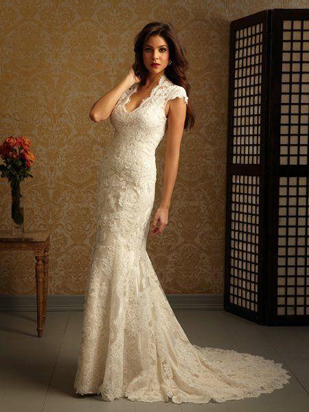 Allure Romance Wedding Dresses Photos on WeddingWire ... so simple and pretty