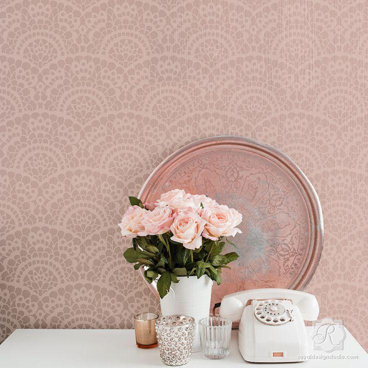 78 best Color Me: Pink! images on Pinterest | Royal design, Wall ...