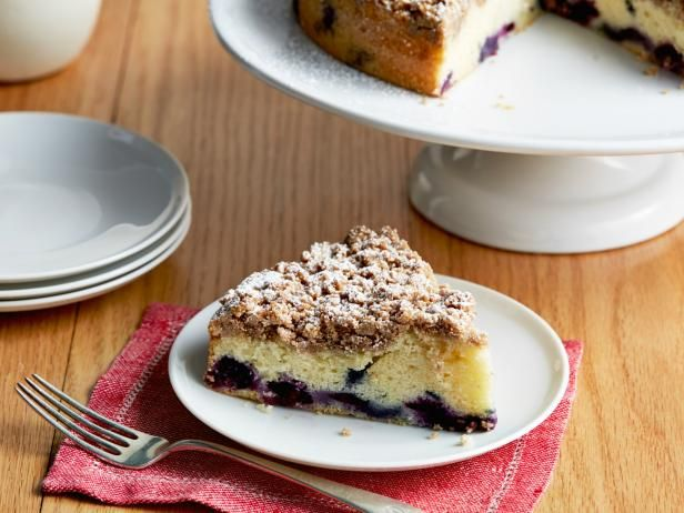 Get Blueberry Crumb Cake Recipe from Food Network