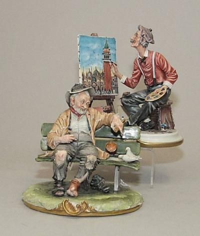 24 best capo di monte appraisal values images on pinterest two contemporary capodimonte porcelain figures second half 20th century price guidestreet altavistaventures Image collections