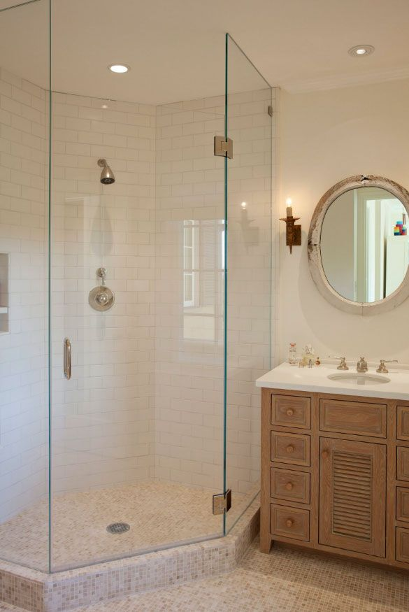 37 Fantastic Frameless Glass Shower Door Ideas Corner Shower