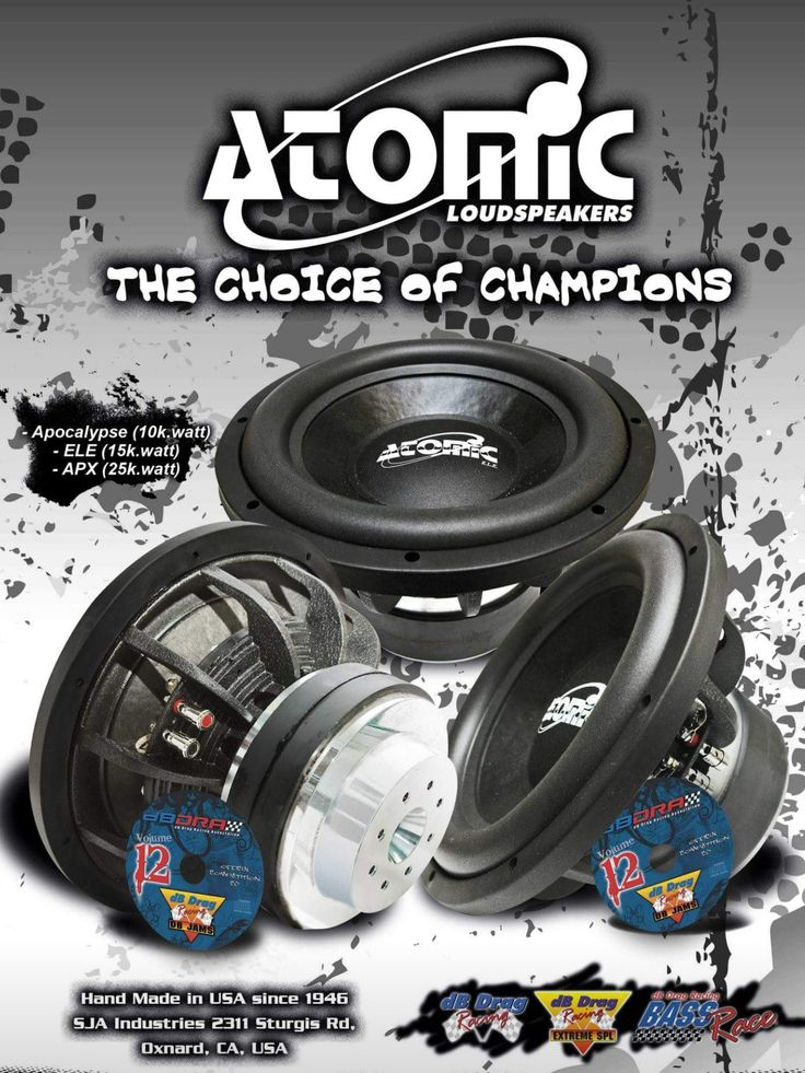 Atomic audio  Hand made in the USA