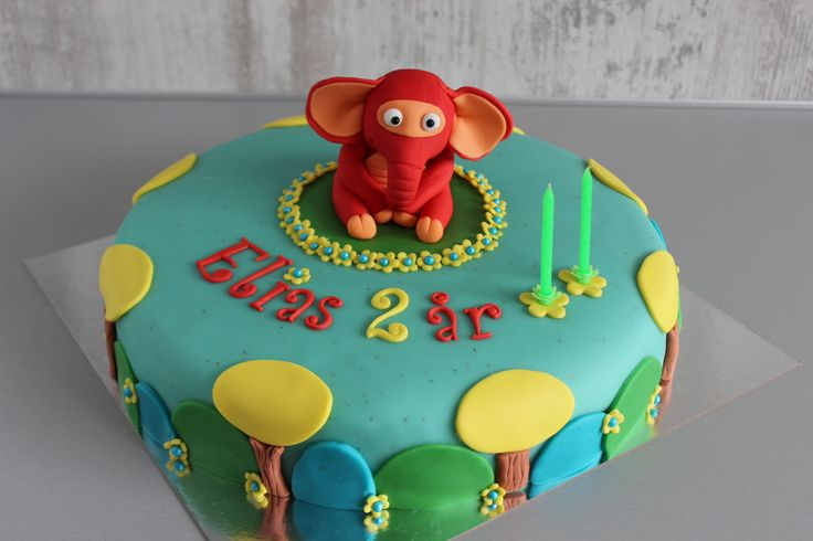Fantorangen kake cake