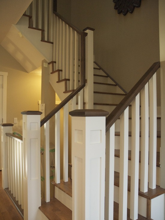 Staircase Farmhouse Design, Pictures, Remodel, Decor And Ideas   Page 6