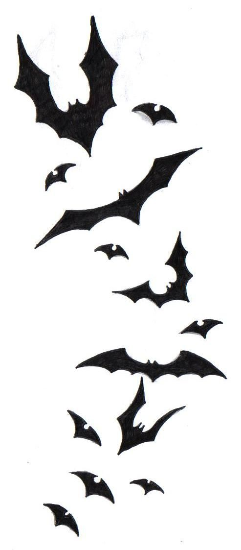 Bat Tattoo Design by ~SecraanaBlackRaven on deviantART