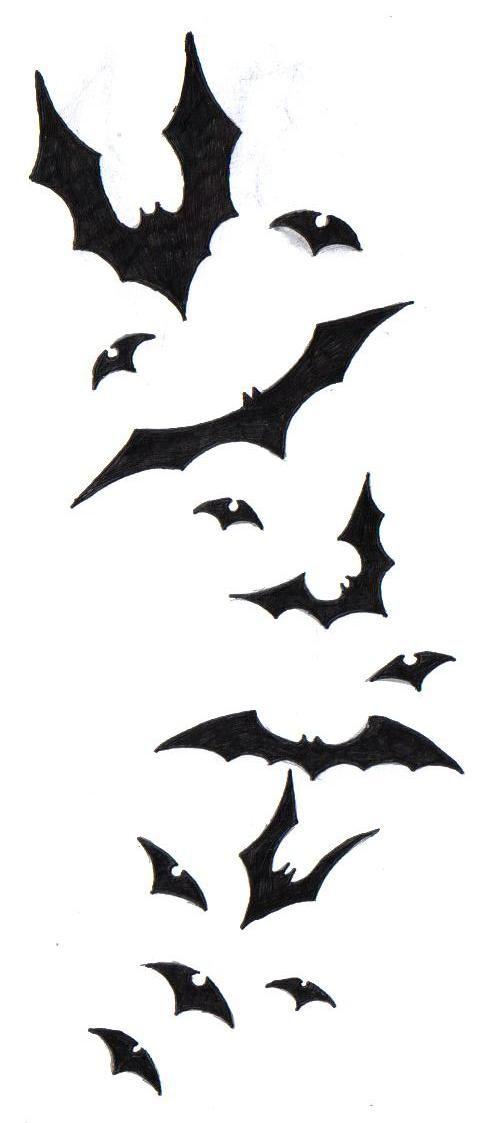 Bat Tattoo Design by ~SecraanaBlackRaven on deviantART