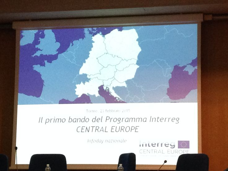 Interreg Central Europe - bando 2015