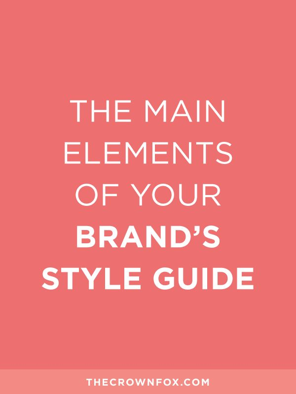Style guides take the guesswork out of your brand, and this post is super helpful in helping you create one that WORKS.