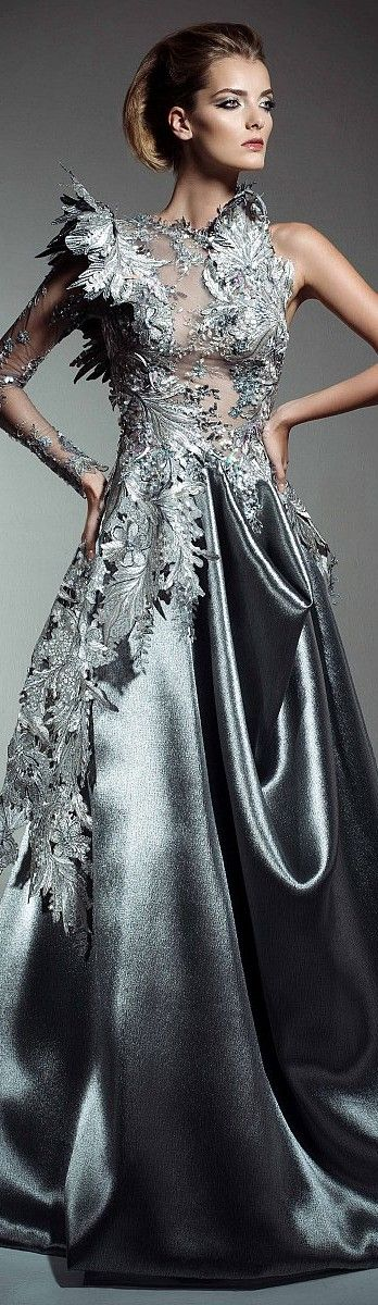 Blanka Matragi Fall Winter 2015-2016 Couture