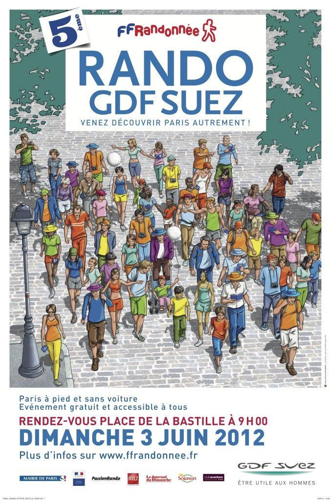 Plus de 20 000 personnes attendues le 3 juin 2012 pour la Rando GDF SUEZ Paris  http://www.pariscotejardin.fr/2012/06/plus-de-20-000-personnes-attendues-le-3-juin-2012-pour-la-rando-gdf-suez-paris/