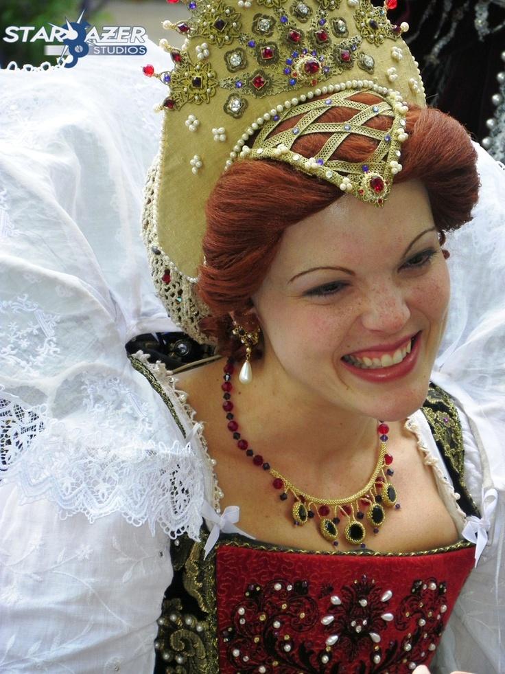 Queen of the Faire. Pennsylvania Renaissance Faire.