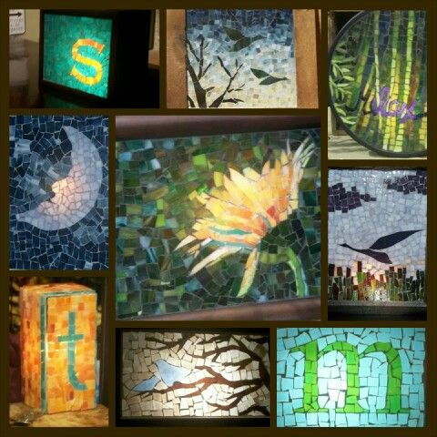 Custom, made to order mosaic art and lamps. Suzanne Earls ...