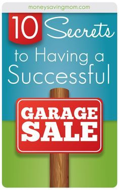 If you want to have a smashingly successful yard sale, this post is a MUST READ! Filled with lots of great tips, tricks, and tactics that really work!
