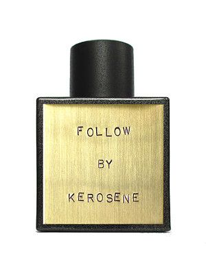 """A warm gourmand coffee fragrance for winter Kerosene Fragrances announces the release today of its newest fragrance, Follow. As perfumer John Pegg explained on Facebook, """"This scent has been in the making for the past two years.We're so excited it's finally complete!It's an unexpectedly dark, warm, gourmand coffee fragrance."""" Follow is the first release by Kerosene in 2016."""