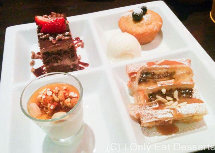 Eggless tasting platter