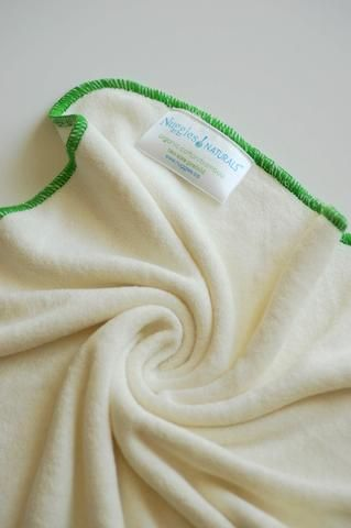 NEW! Nuggles Naturals Bamboo Terry Prefold Insert - Size 2 Daytime (Single) CLEARANCE