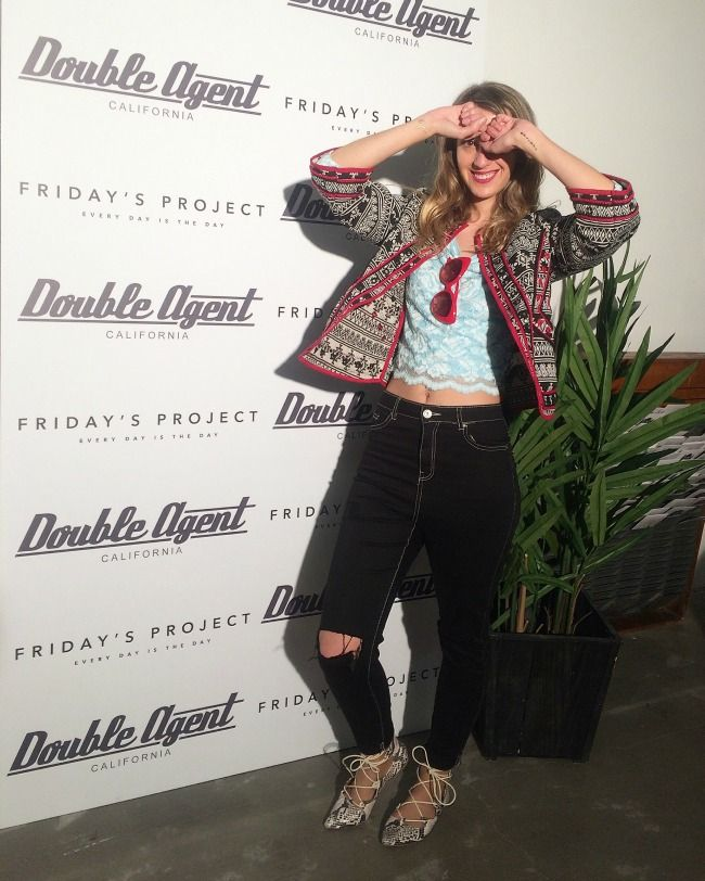 Trendyrness: Double Agent Meets Friday's (and we love it!)