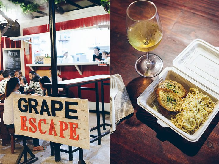 Grape Escape, StrEat, Maginhawa