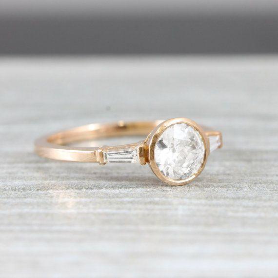 1 carat diamond solitaire engagement ring by aardvarkjewellery