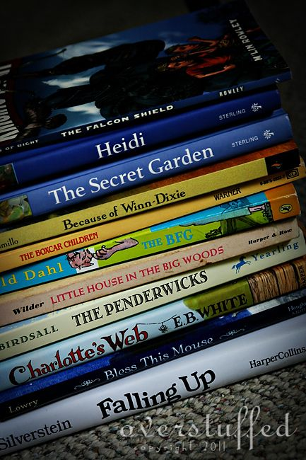 Summer reading list for 8-year-old girl going into 3rd grade.