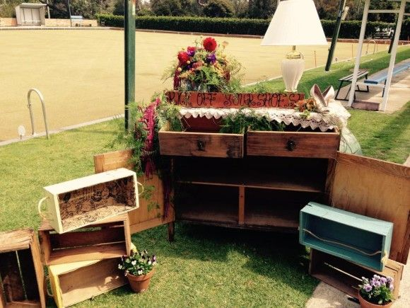 One Day Your Way - The wedding of Jo and David - Alphinton Bowls Club - eclectic vintage - 18