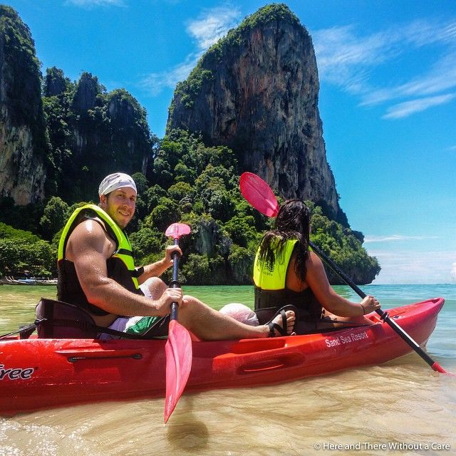 Memories from Railay Beach Here were getting ready to explorehellip
