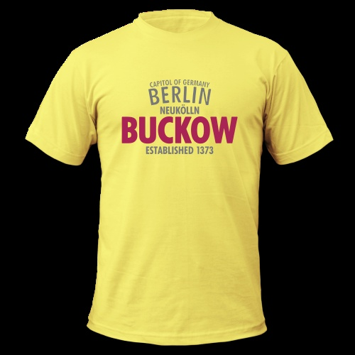 T-Shirt 'Capitol Of Germany Berlin – Buckow' http://sixnineline.spreadshirt.de/customize/product/105484391/sb/l/view/1