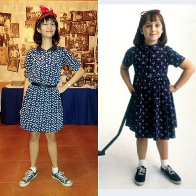 Pin for Later: 21 Literary Costumes For Hardcore Book-Lovers Matilda Wormwood