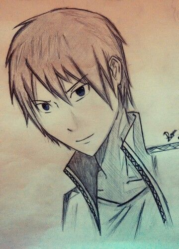 By me ^^ Anime guy